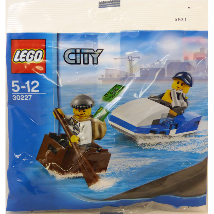 LEGO Town Sets: City 30227 Police Watercraft NEW