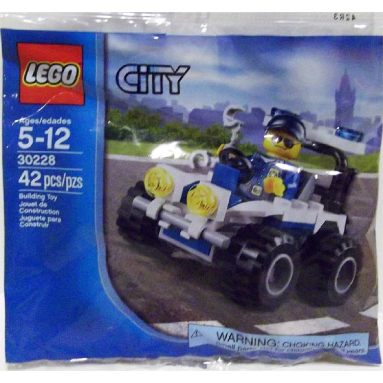 LEGO Town Sets: City 30228 Police ATV NEW