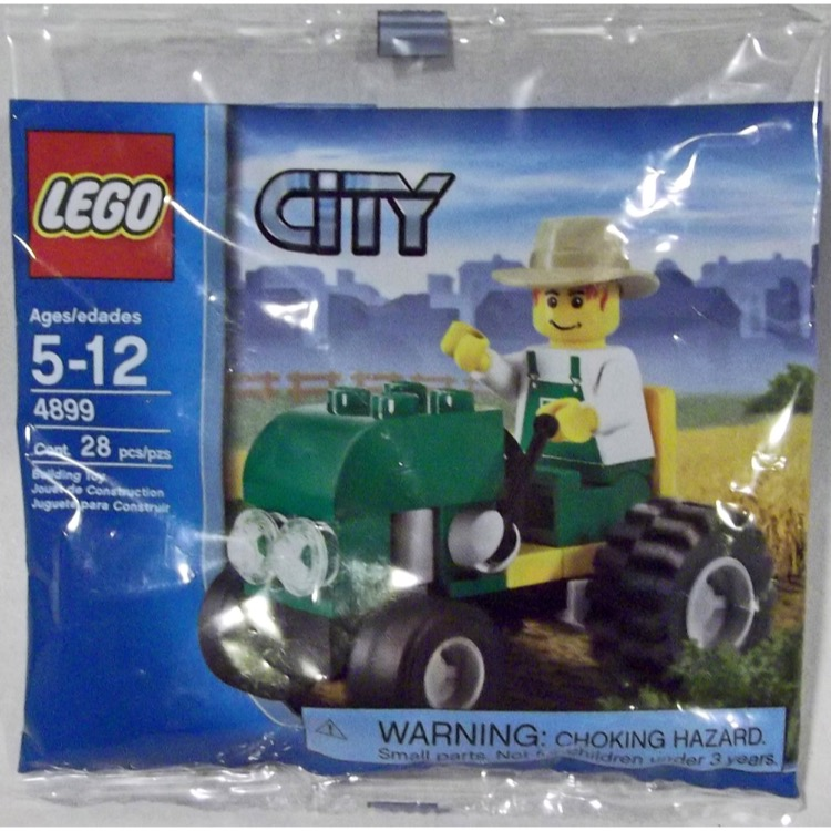 LEGO Town Sets: City Farm 4899 Tractor NEW