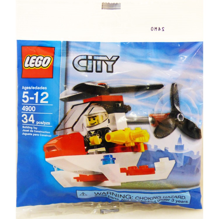 LEGO Town Sets: City 4900 Fire Helicopter NEW