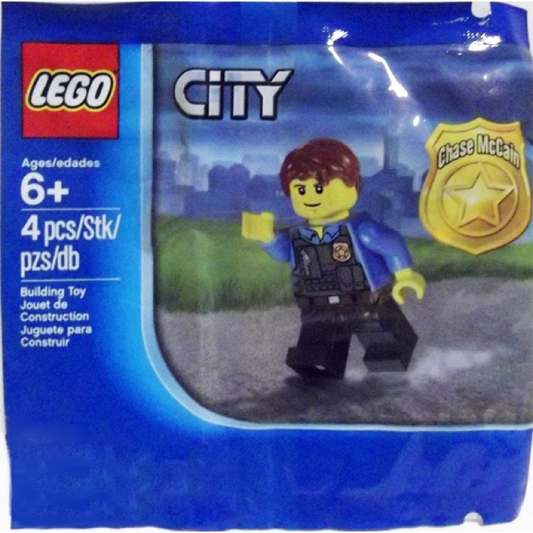 LEGO Town Sets: City 5000281 Chase McCain NEW