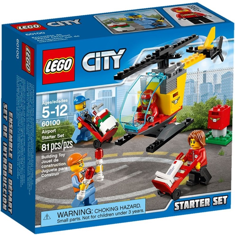 LEGO Town Sets: City 60100 Airport Starter Set NEW