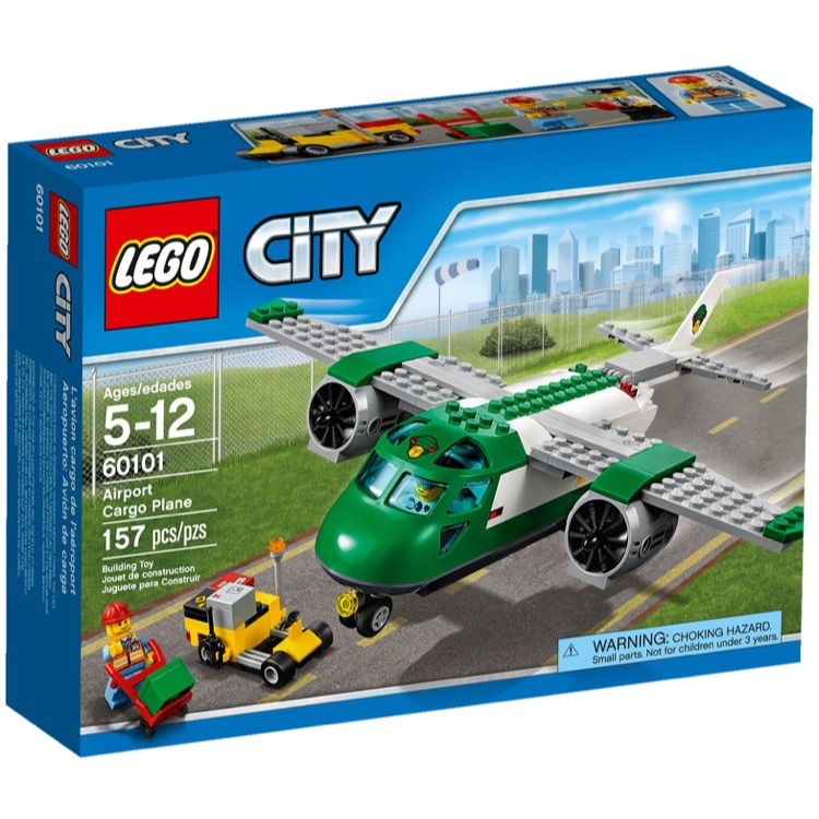 LEGO Town Sets: City 60101 Cargo Plane NEW