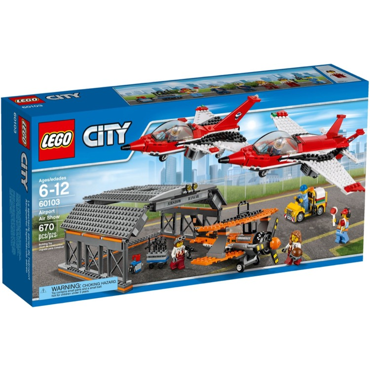 LEGO Town Sets: City 60103 Airshow NEW