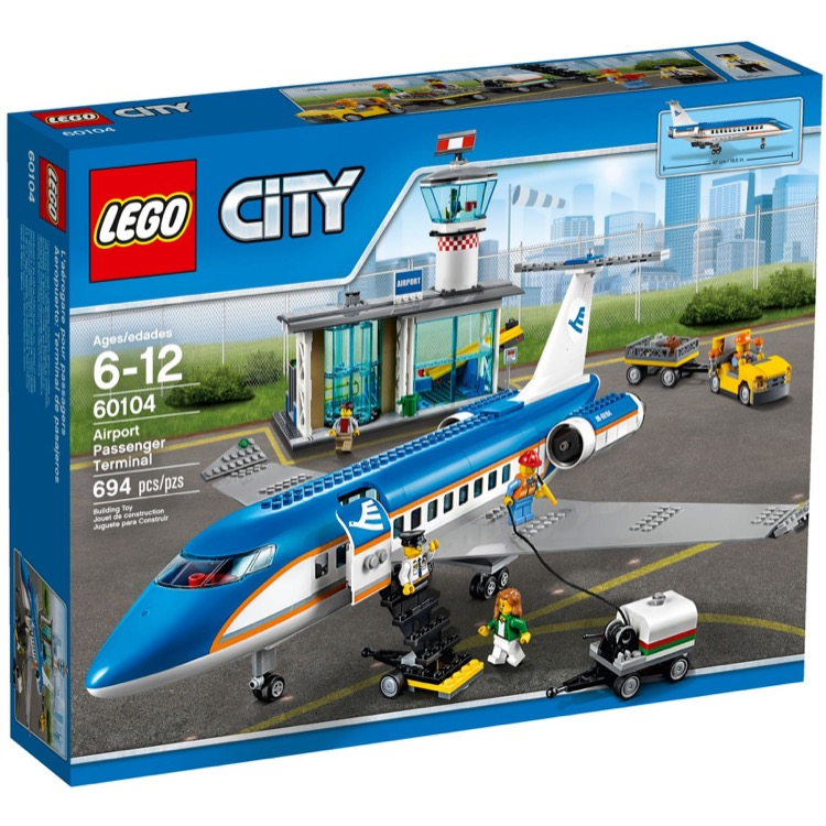 LEGO Town Sets: City 60104 Passenger Terminal NEW