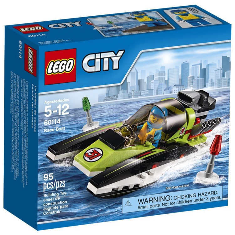 LEGO Town Sets: City 60114 Race Boat NEW