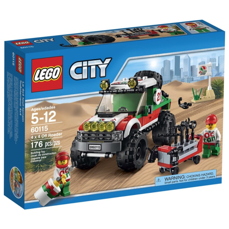 LEGO Town Sets: City 60115 4 x 4 Off Roader NEW