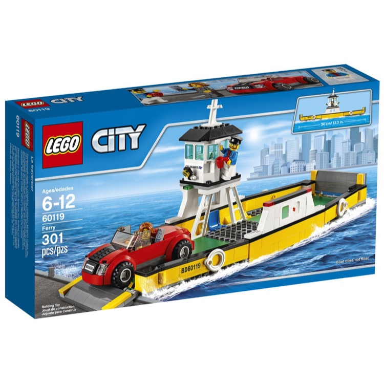 LEGO Town Sets: City 60119 Ferry NEW