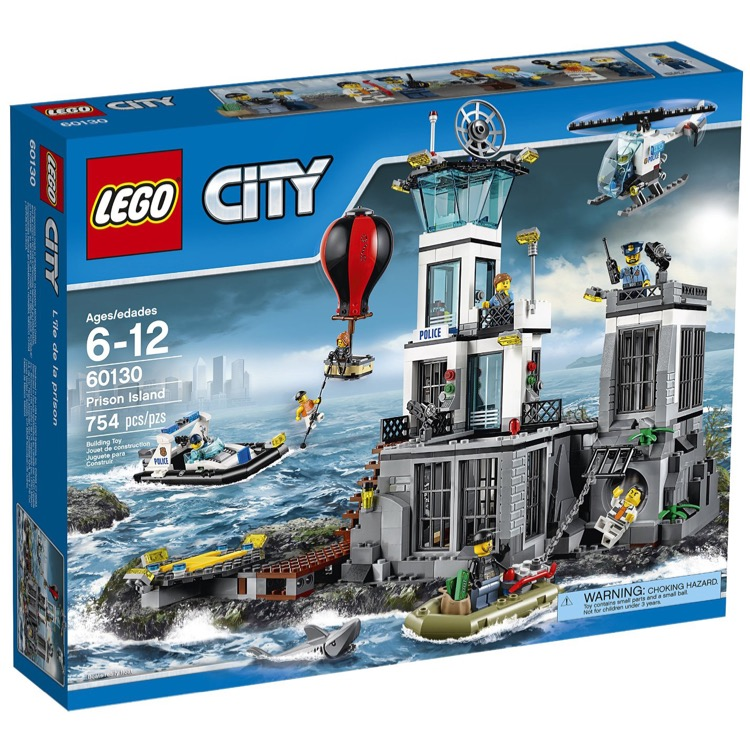 LEGO Town Sets: City 60130 Prison Island NEW