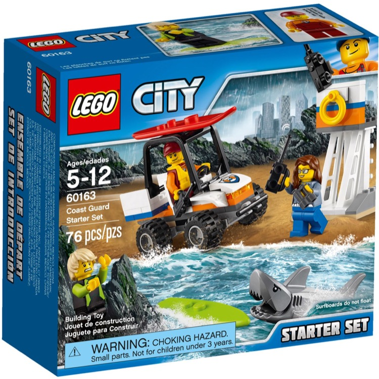 LEGO Town Sets: City 60163 Coast Guard Starter Set NEW