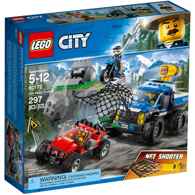 LEGO Town Sets: City 60172 Dirt Road Pursuit NEW