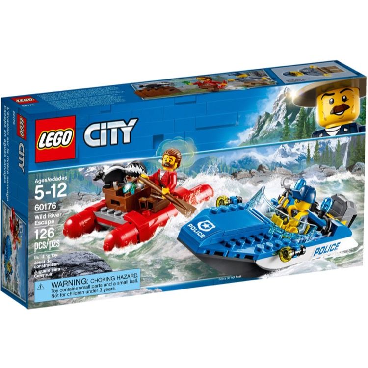 LEGO Town Sets: City 60176 Wild River Escape NEW