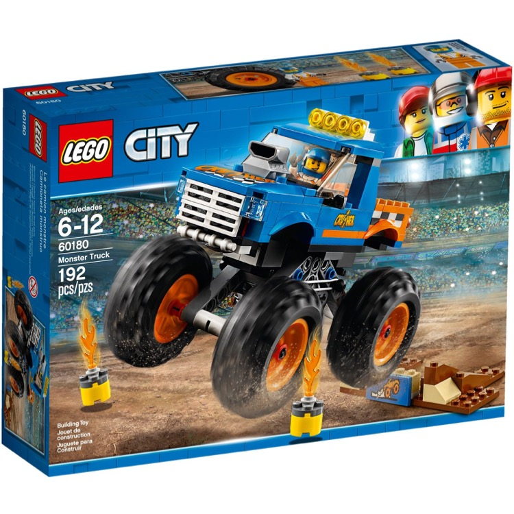 LEGO Town Sets: City 60180 Monster Truck NEW