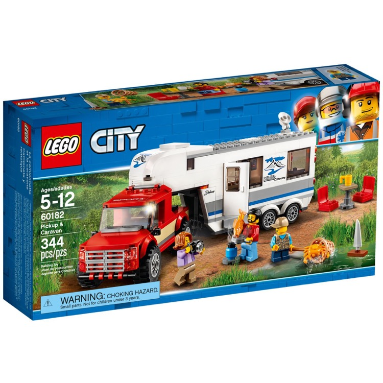 LEGO Town Sets: City 60182 Pickup & Caravan NEW