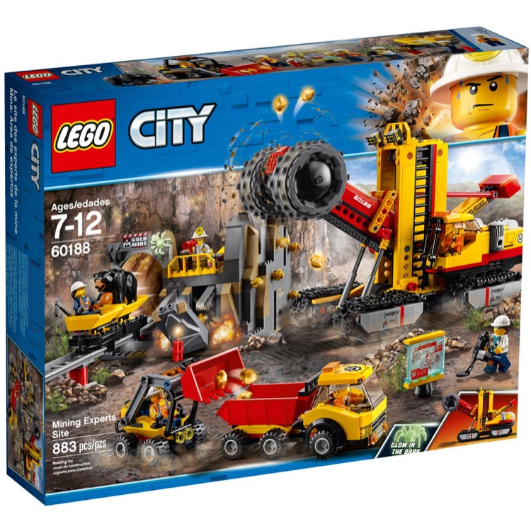 LEGO Town Sets: City 60188 Mining Experts Site NEW