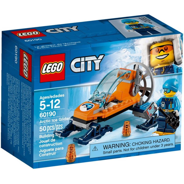 LEGO Town Sets: City 60190 Arctic Ice Glider NEW *Damaged Box*