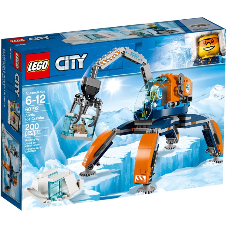 LEGO Town Sets: City 60192 Arctic Ice Crawler NEW