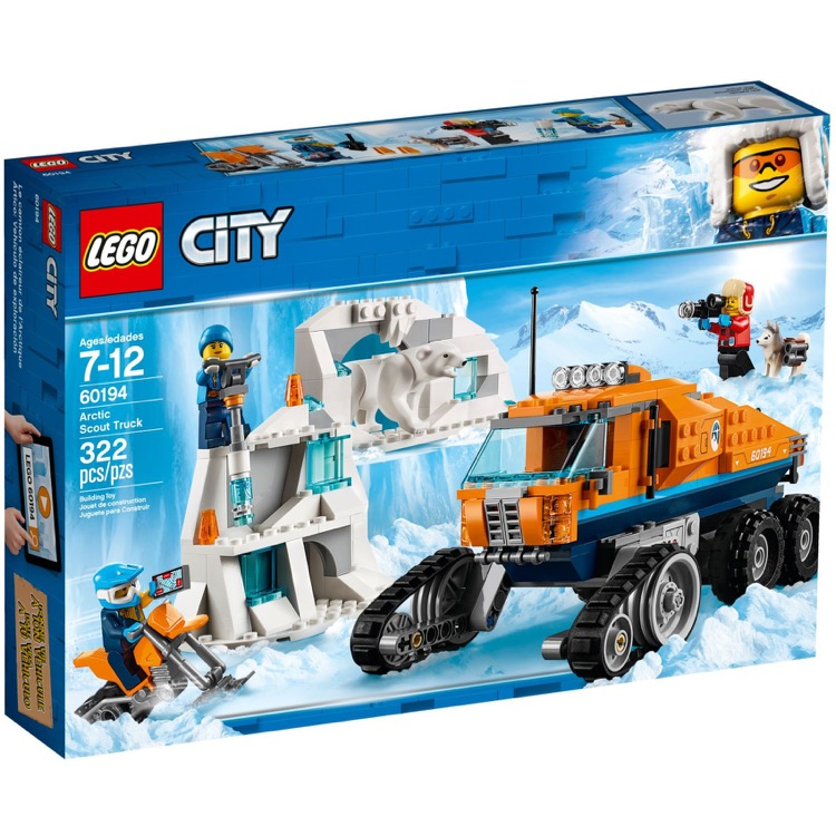 LEGO Town Sets: City 60194 Arctic Scout Truck NEW