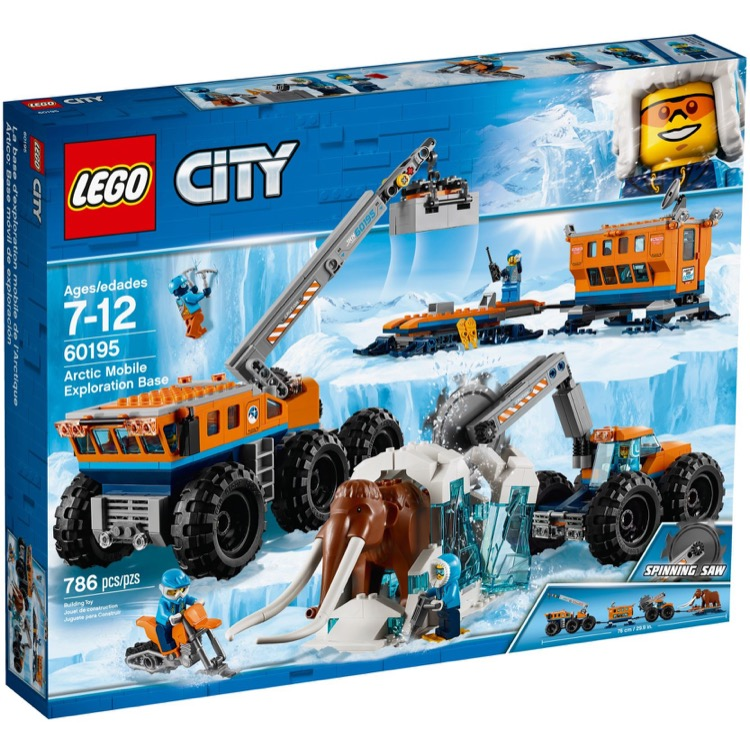 LEGO Town Sets: City 60195 Arctic Mobile Exploration Base NEW