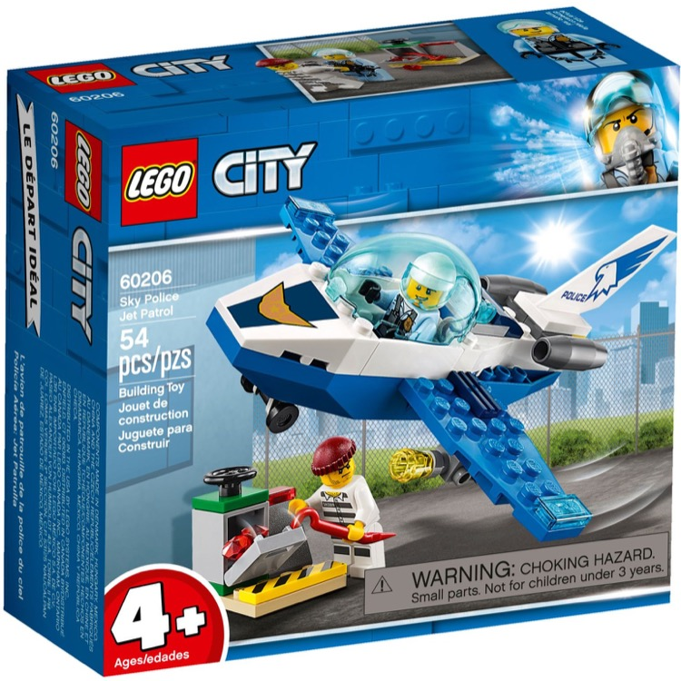 LEGO Town Sets: 60206 City Jet Patrol NEW *Rough Shape*