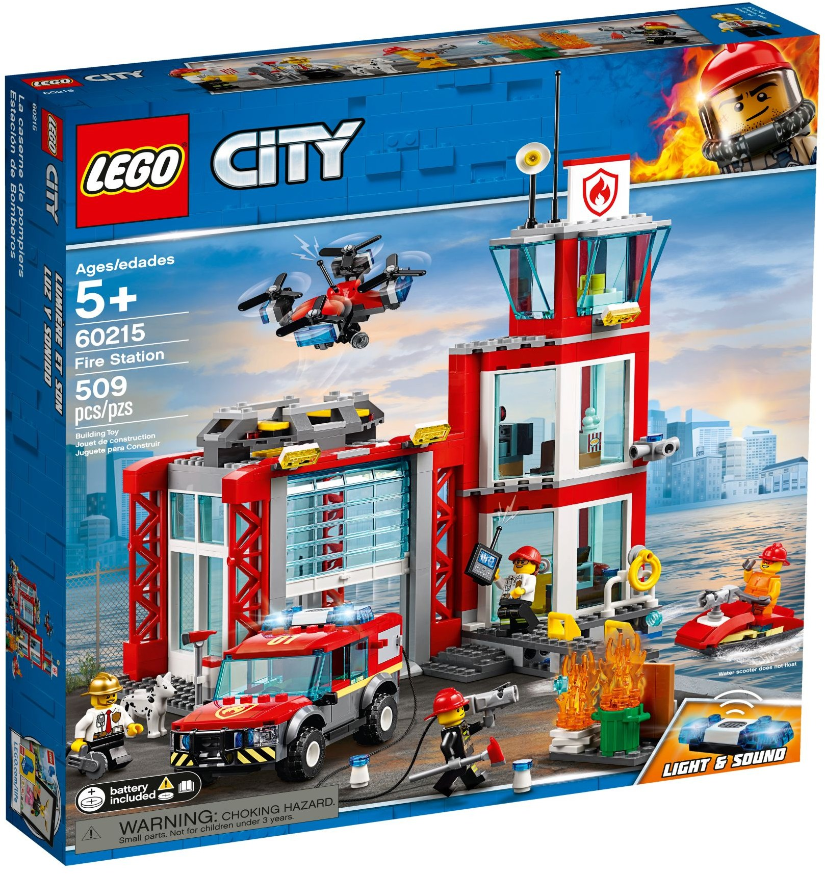 LEGO Town Sets: 60215 City Fire Station NEW