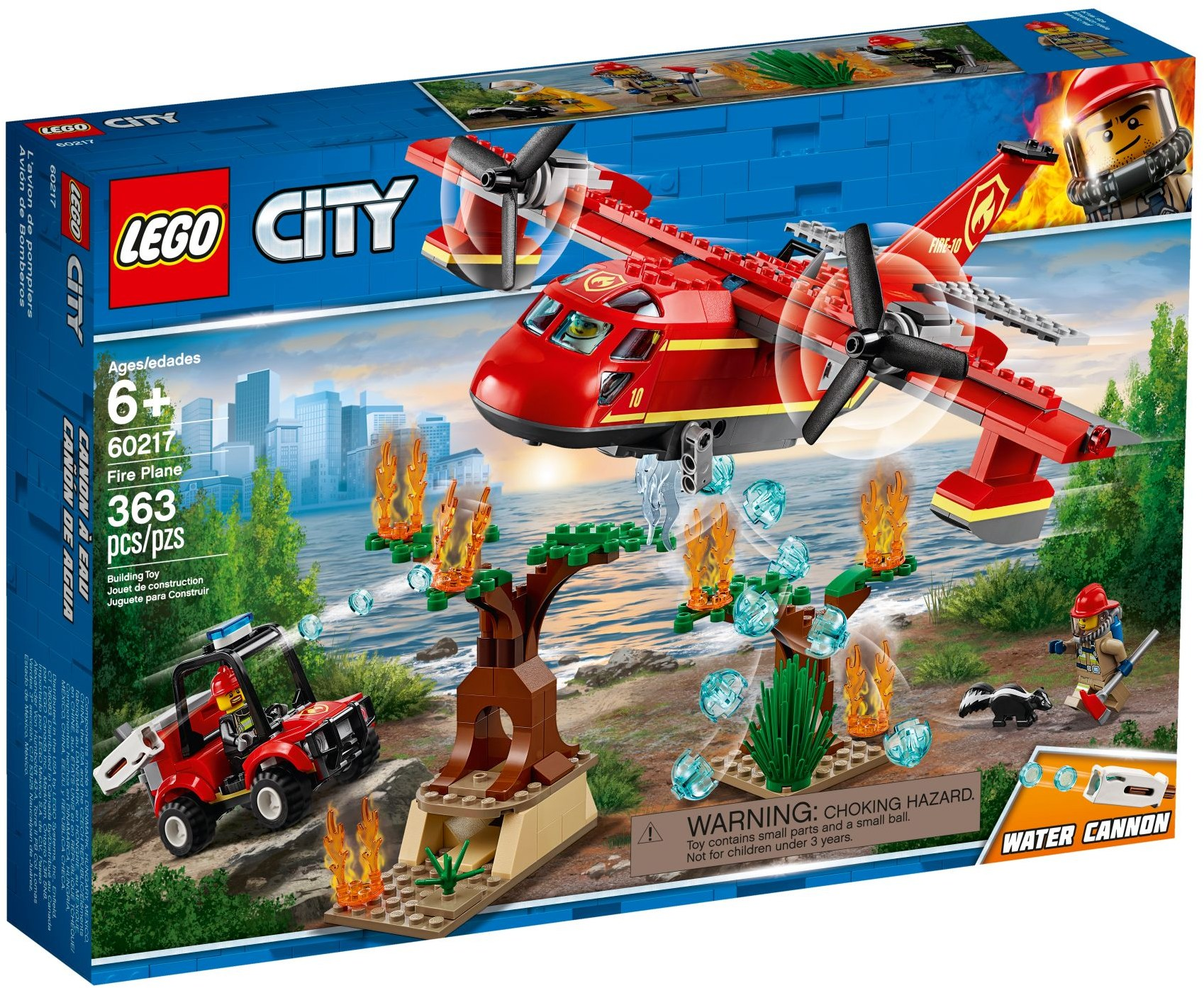 LEGO Town Sets: 60217 City Fire Plane NEW