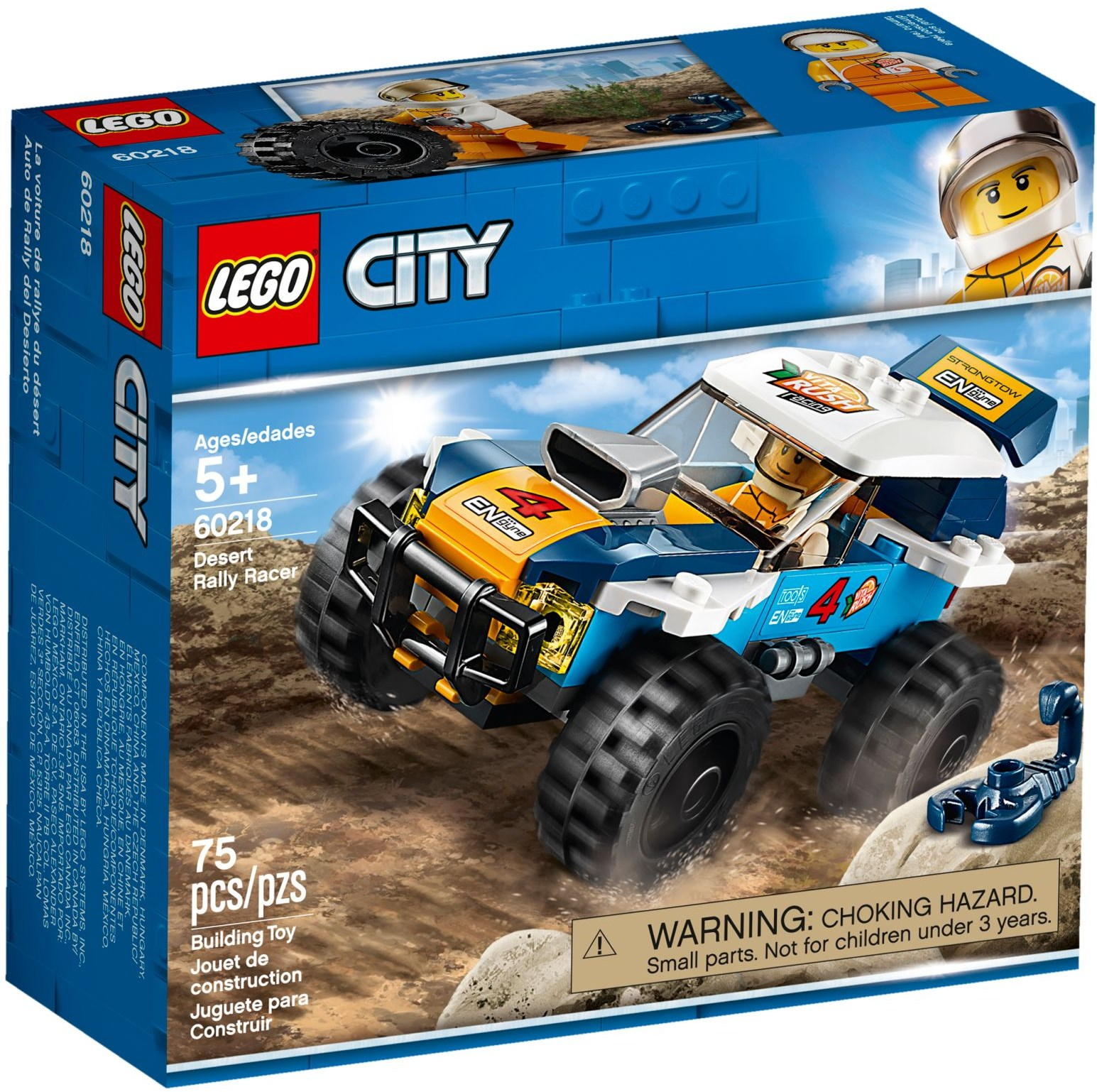 LEGO Town Sets: 60218 City Desert Rally Racer NEW