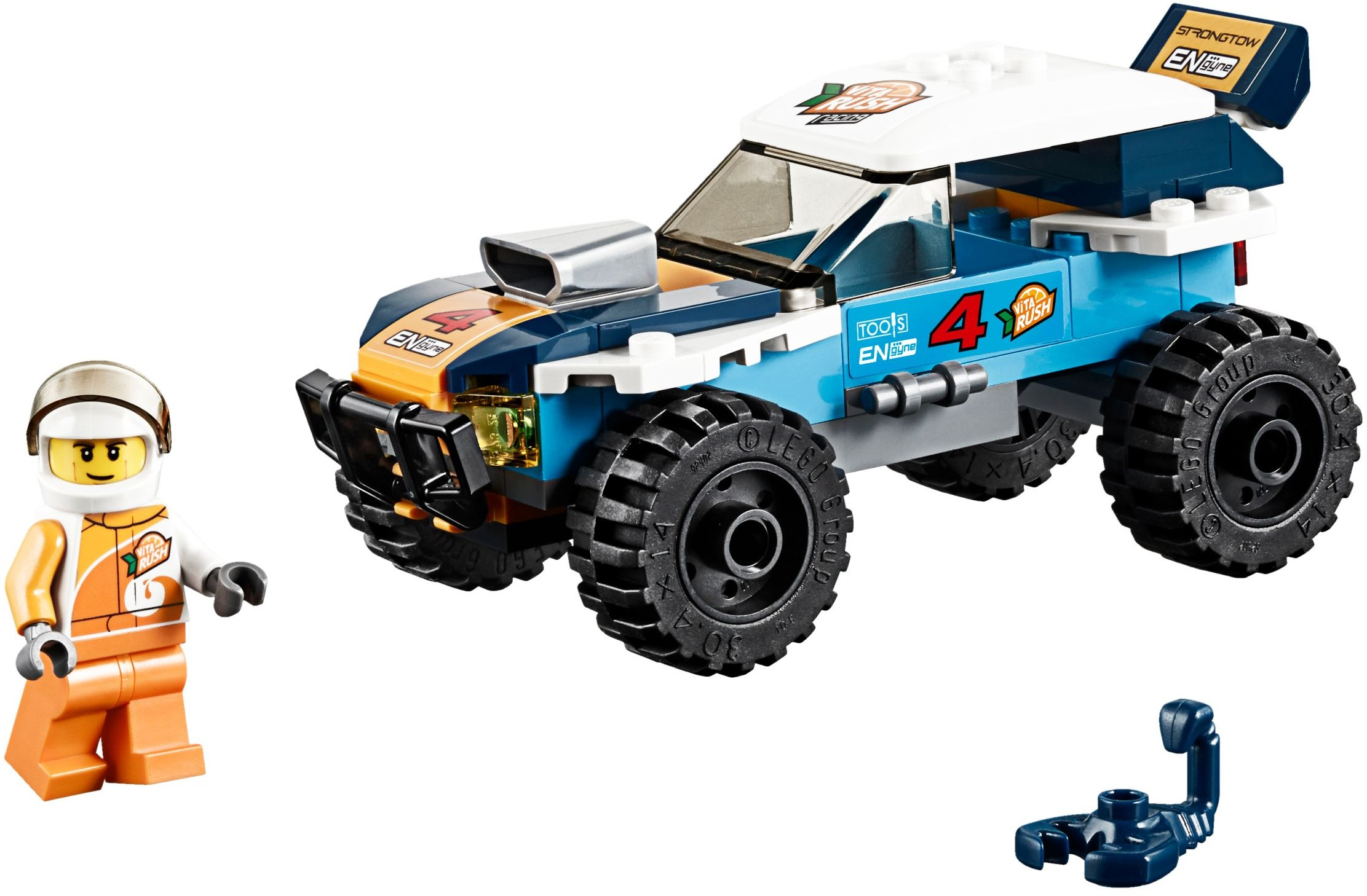LEGO CITY 60218 DESERT RALLY RACER BRAND NEW 5+