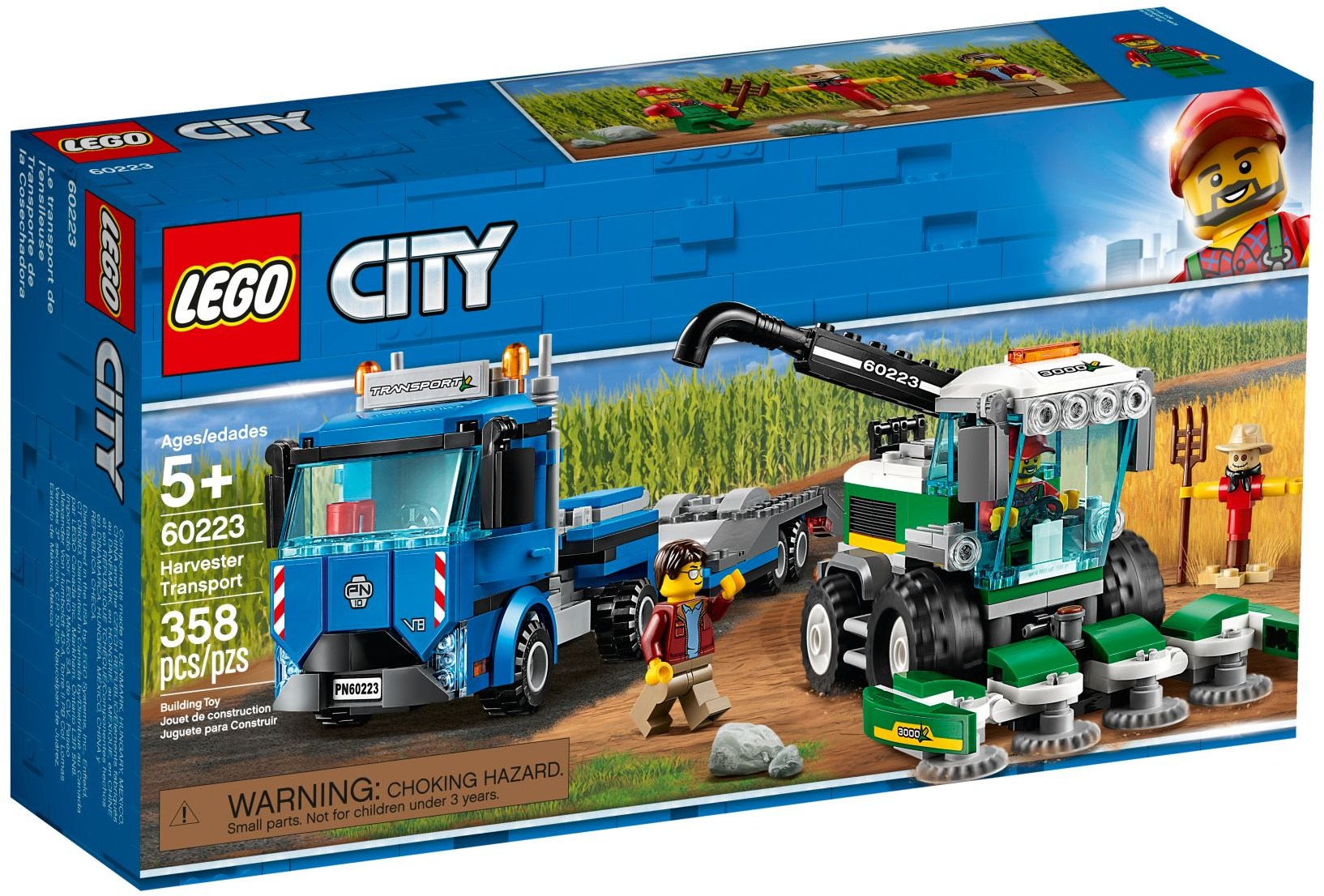LEGO Town Sets: 60223 City Harvester Transport NEW
