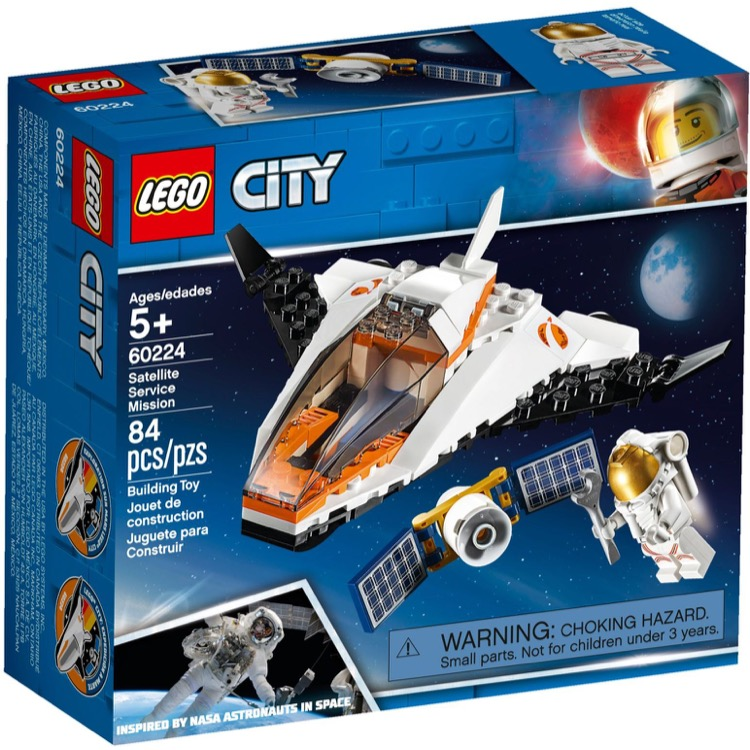 LEGO Town Sets: City 60224 Satellite Service Mission NEW