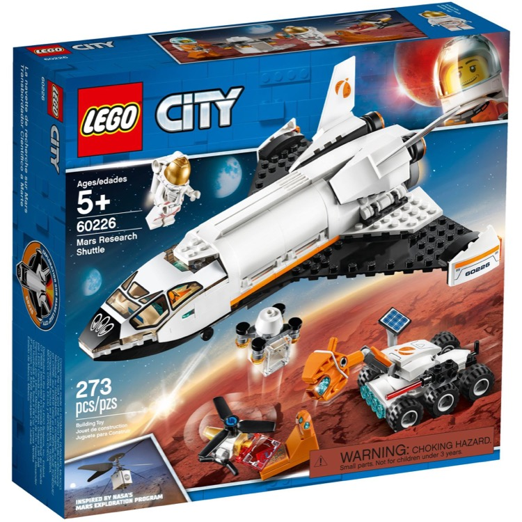 LEGO Town Sets: City 60226 Mars Research Shuttle NEW