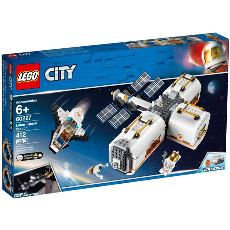 LEGO Town Sets: City 60227 Lunar Space Station NEW