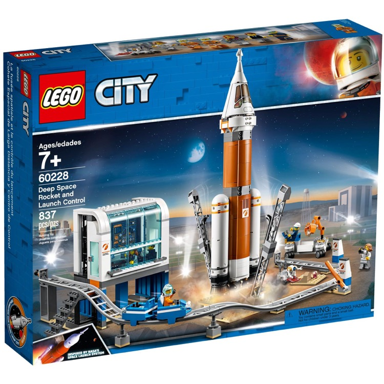 LEGO Town Sets: City 60228 Deep Space Rocket and Launch Control NEW