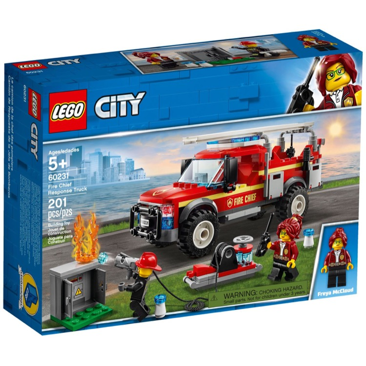 LEGO Town Sets: City 60231 Fire Chief Response Truck NEW
