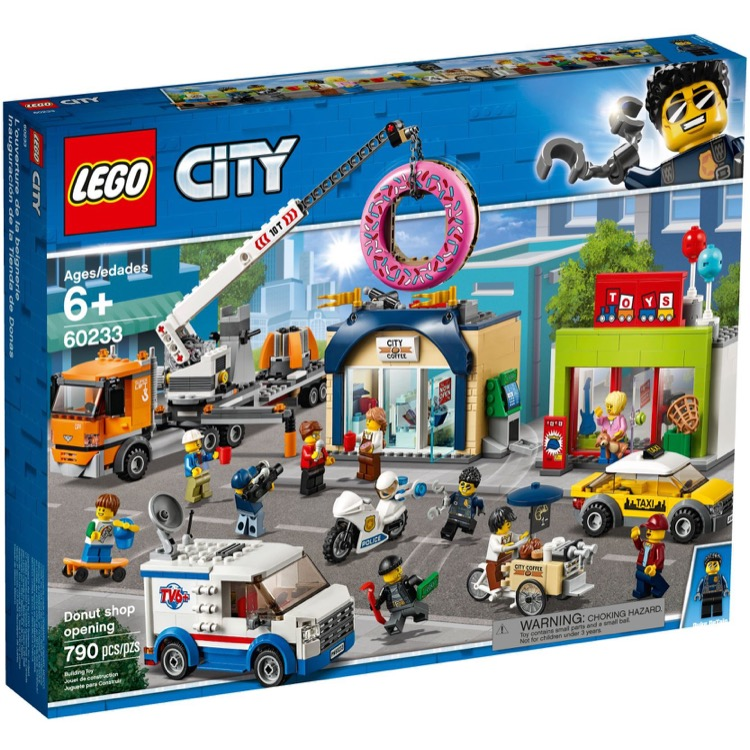 LEGO Town Sets: City 60233 Donut shop opening NEW