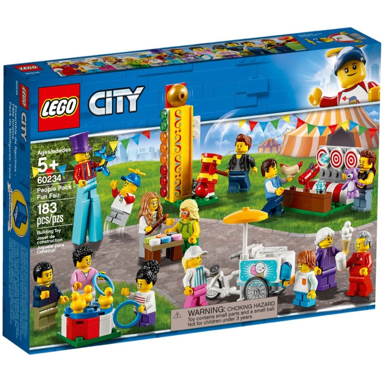 LEGO Town Sets: City 60234 People Pack - Fun Fair NEW