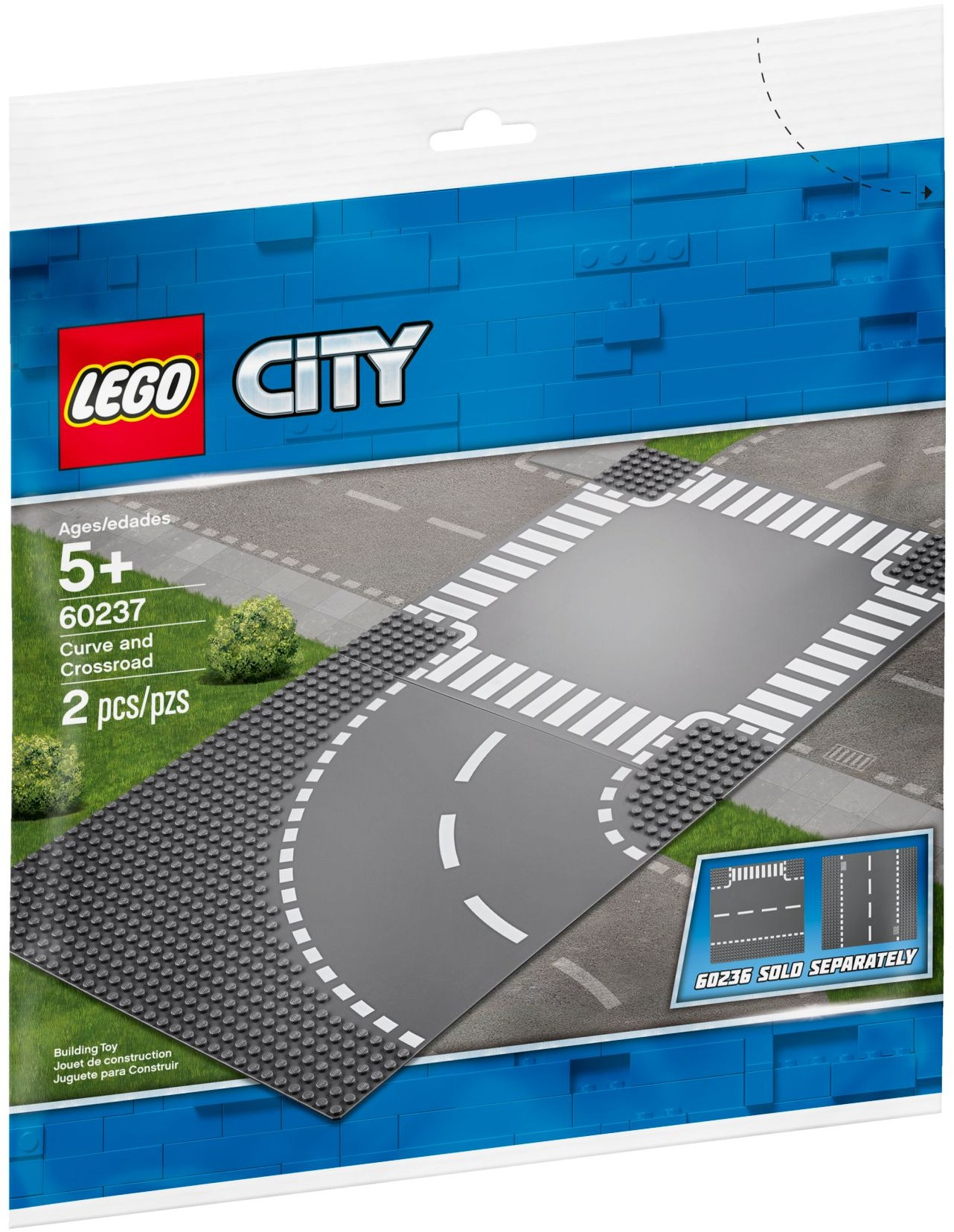 LEGO Town Sets: 60237 City Curves & Crossroad NEW