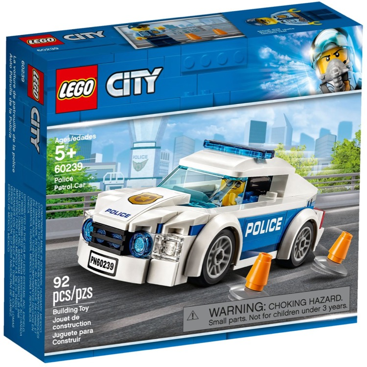 LEGO Town Sets: 60239 City Police Patrol Car NEW