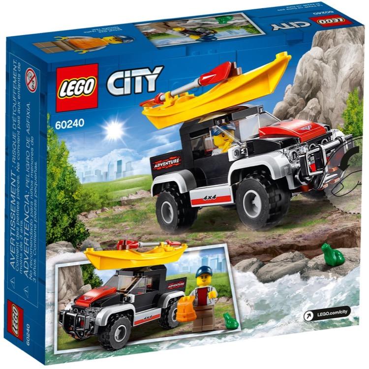 LEGO Town Sets: 60240 City Kayak Adventure NEW