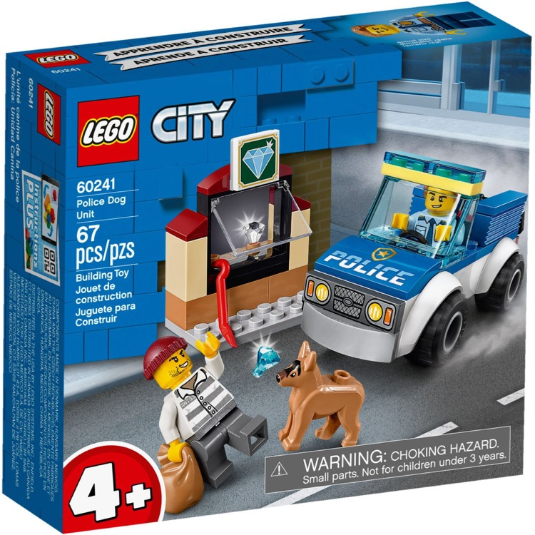 LEGO Town Sets: City 60241 Police Dog Unit NEW