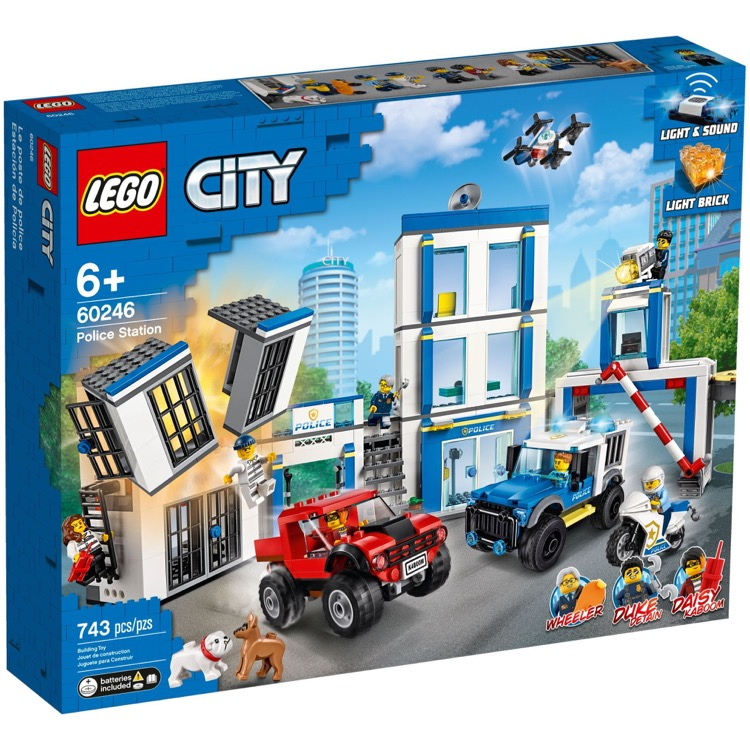 LEGO Town Sets: City 60246 Police Station NEW