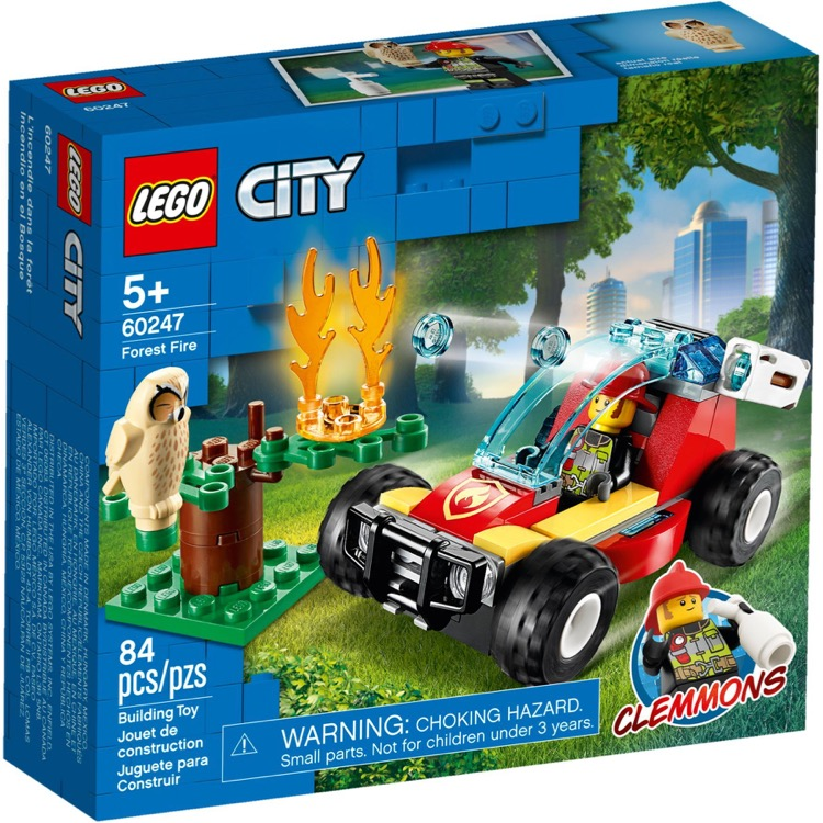 LEGO Town Sets: City 60247 Forest Fire NEW