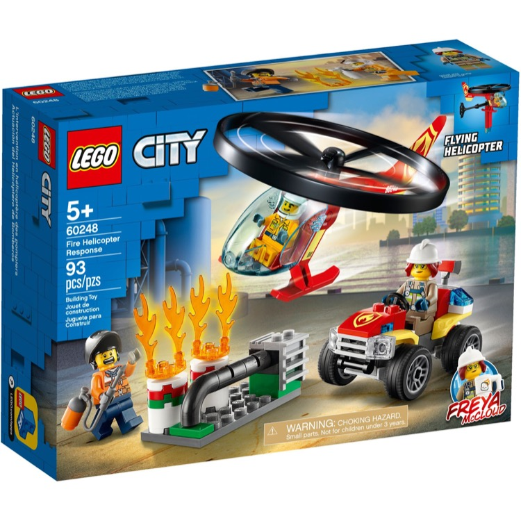 LEGO Town Sets: City 60248 Fire Helicopter Response NEW