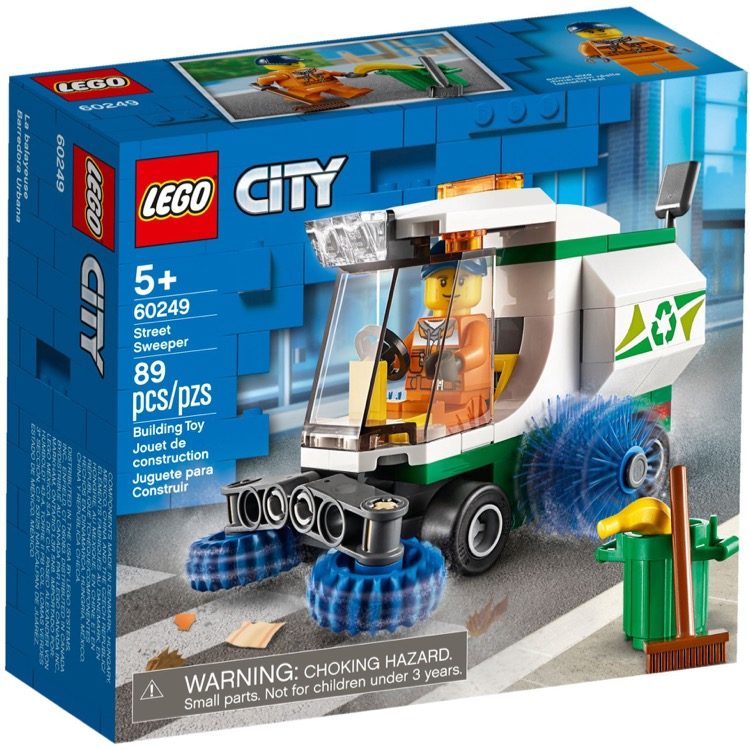 LEGO Town Sets: City 60249 Street Sweeper NEW