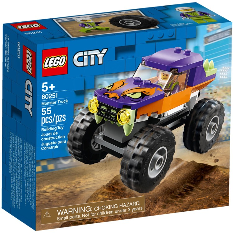 LEGO Town Sets: City 60251 Monster Truck NEW