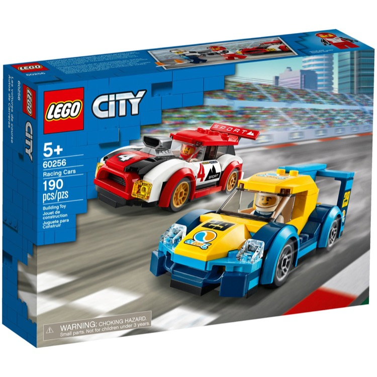 LEGO Town Sets: City 60256 Racing Cars NEW