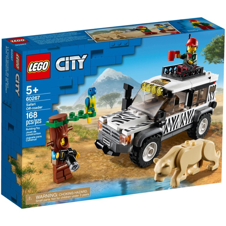 LEGO Town Sets: City 60267 Safari Off-Roader NEW