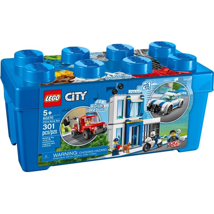 LEGO Town Sets: City 60270 Police Brick Box NEW