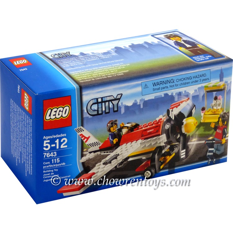LEGO Town Sets: City 7643 Air-Show Plane NEW