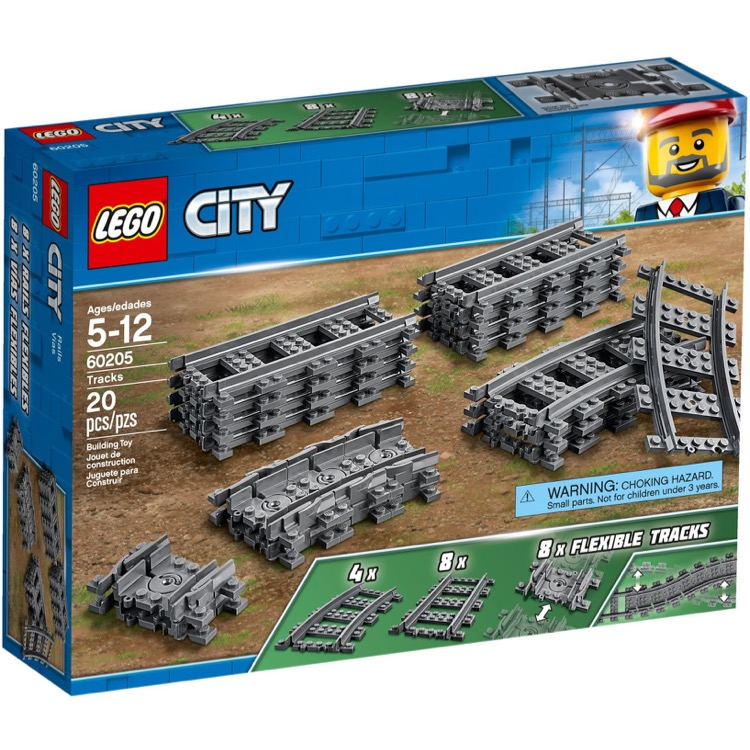 LEGO Town Sets: City 60205 Tracks NEW
